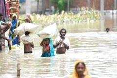 more than 1000 villages of up in the grip of flood