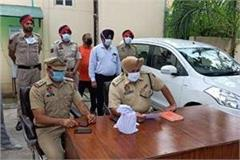 shahkot police arrested car rider with heroin worth 5 crores
