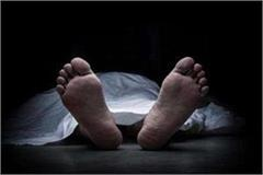 balrampur dead body of village head found hanging from rosewood tree
