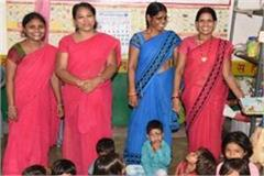shivraj government will give saree money to anganwadi workers