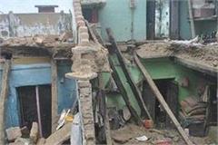 rain havoc 3 children traumatized 6 injured in ravine roof collapse