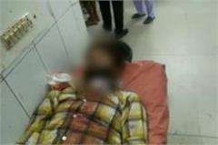 a man cut his neck in a police station