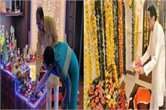 cm shivraj and kamal nath celebrated janmashtami like this