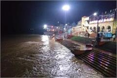 flood like conditions in hundreds of villages due to heavy rains