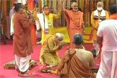 program of bhoomi poojan started amid chanting