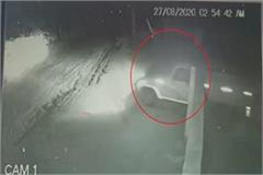 encounter of thieves elevated thieves flew in pickup car parked in godown