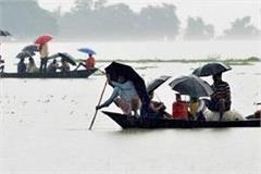 saryu river 48 cm above danger mark in settlement 16 thousand doing trihimam
