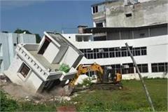 yogi government s eye on mafia bulldozer launched on illegal
