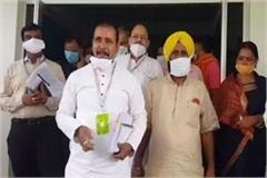 cabinet minister anil rajbhar did aerial survey of flood areas