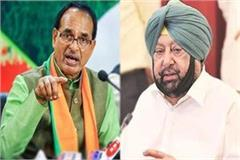 shivraj singh complained to sonia about captain amarinder