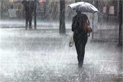 heavy rain warning for the next three days in eastern and western uttar pradesh