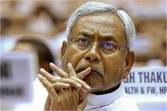 nitish mourns the demise of congress leader ramdev rai