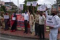protest against chinese products in indore