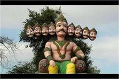 jai shri ram  echoed in ravana s birthplace bisarkh