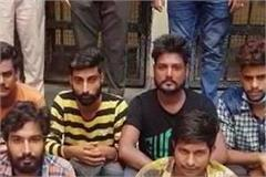 seven-accused-arrested-for-murder-in-police-station-baddi