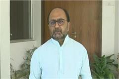 up cabinet minister siddharthnath singh corona infected