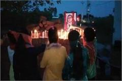tribute paid to the promising student sudiksha bhati in the village