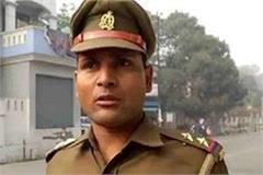 the suspended inspector said  i will not come until etawah tomar stays