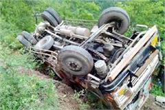 truck accident in bilaspur