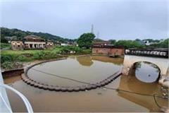 chhatarpur submerged due to heavy rains