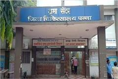 sonography will be done once a week in panna district