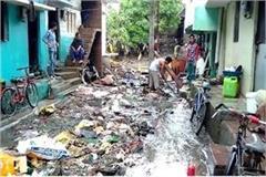 heavy rains devastated the poor