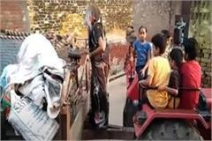 shamli brahmins paste posters of migration on homes