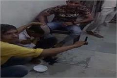dabangas in agra twisted the head of the young man in the village