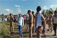 tragic accident in barabanki three youths drowned in river