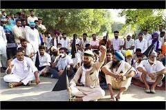 farmers were waiting for black flags digvijay chautala left tour in middle