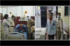 villagers beat up fiercely lover and policemen