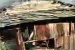 two and a half storey houses burnt to ashes in kufridhar of shat panchayat