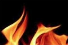 kitchen and 2 rooms damaged due to sudden fire