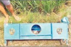 burglars steal 25 thousand rupees from guru ghar