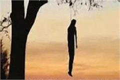 dead body of youth found hanging from tree in temple premises fear of murder