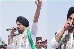 sidhu moosewala targeted the central government