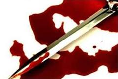 young man cut woman s hand with sharp weapon in money transaction