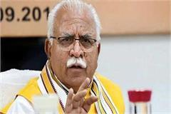 cm manohar lal khattar hold group meeting of ministers