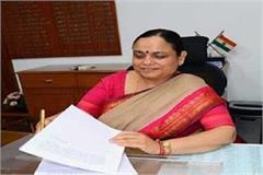 keshani anand arora haryana s chief sectory set precedent in karon crisis