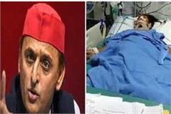 opposition thunders on death of gang rape victim akhilesh said