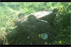 car falls into a ditch a girl dies