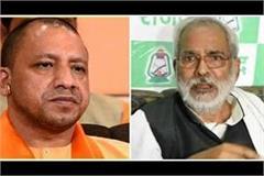cm yogi expressed grief over the death of raghuvansh prasad