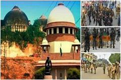 babri demolition high alert in the state ayodhya before the verdict comes