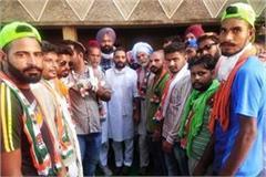 baba sardara ram s family and basti bavaria s panchayat join congress