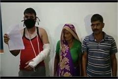 moradabad dabangs break hand for armyman in ground dispute
