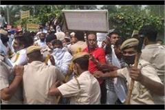 pti teachers clash with police