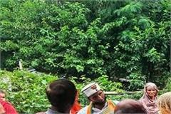 bjp district president visits dalit colony