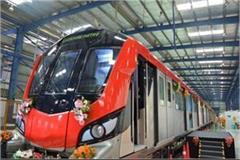 lucknow metro will run on the track from tomorrow