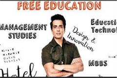 then sonu sood came forward to help started scholarship for poor children