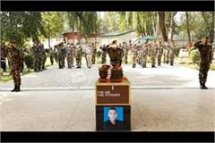 army pays tribute to martyr lieutenant bhupendra